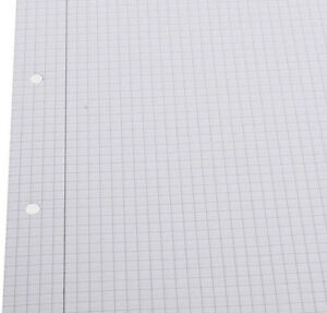 A5 x 100 Sheets Squared Graph Grid Paper School Writing