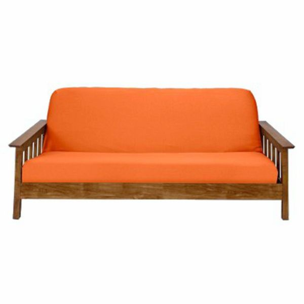 Full Queen Size Futon Mattresses Cover Slipcover Thick 6