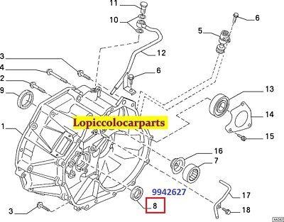 9942627 Paraolio Cambio Automatico Fiat Lancia 27 x 45 x 9