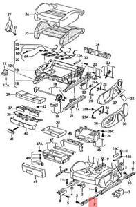 Genuine AUDI SEAT A4 Avant Quattro S4 A6 Cover For Guide