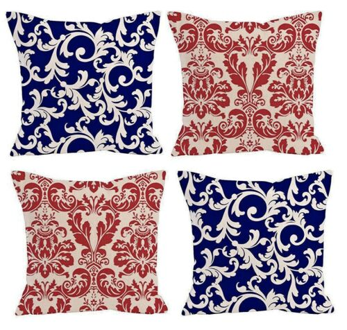 4 pack dumask throw pillow cover 20x20 home decor outdoor insert not include home decor home decor pillows
