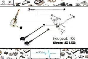 Set de 4 pcs Peugeot 106 citroen saxo gear tiges gear box