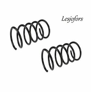 For Volvo S80 1999-2006 Set of 2 Rear Coil Spring