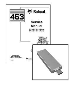Bobcat 463 Skid Steer Loader Workshop Service Repair