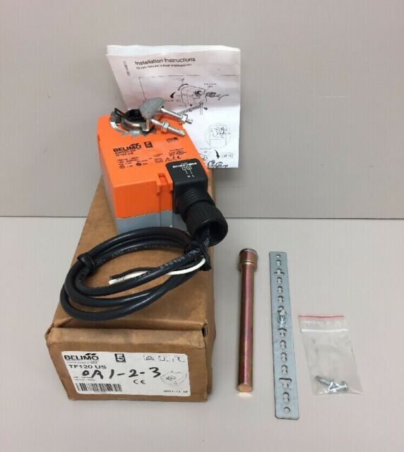 belimo tf120 us actuator w cables  brackets