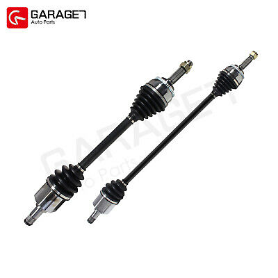 Pair Front CV Joint Axle Assembly Fit 2000-2005 Mitsubishi