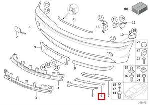 Genuine BMW 3 Series E46 Sedan Wagon Front Open Grid