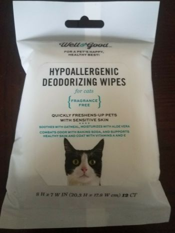 Deodorizing Wipes