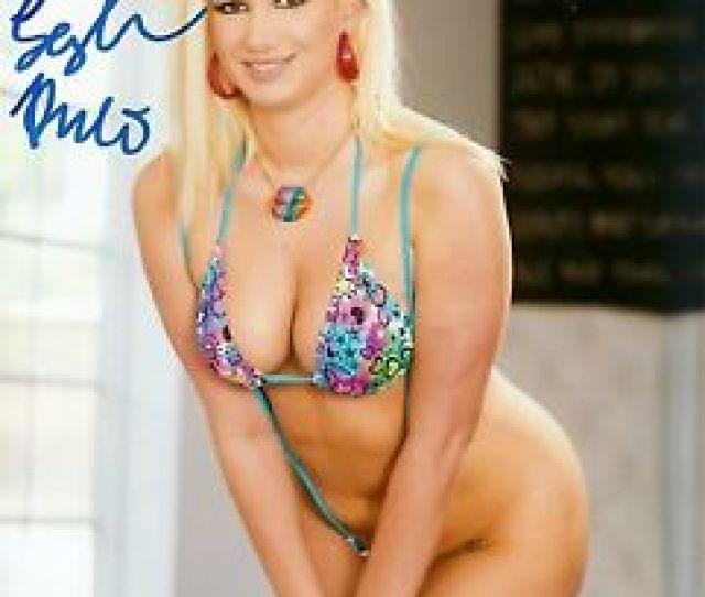 Image Is Loading Layla Price Signed Photo X  Evil Angel