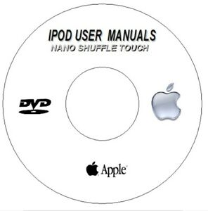 APPLE IPOD NANO SHUFFLE TOUCH USER GUIDES INSTRUCTION