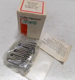 cutler hammer c350ke23 63 fuse clip assembly h k r fuses 100a size 2 3 ebay [ 857 x 964 Pixel ]