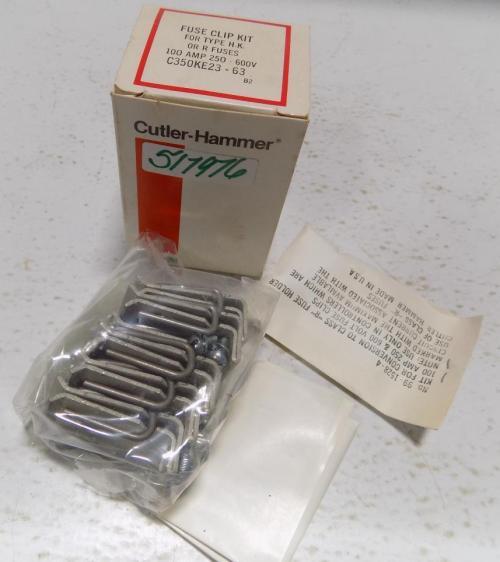 small resolution of cutler hammer c350ke23 63 fuse clip assembly h k r fuses 100a size 2 3 ebay