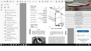 Beechcraft Musketeer Sport & Sundowner Service maintenance