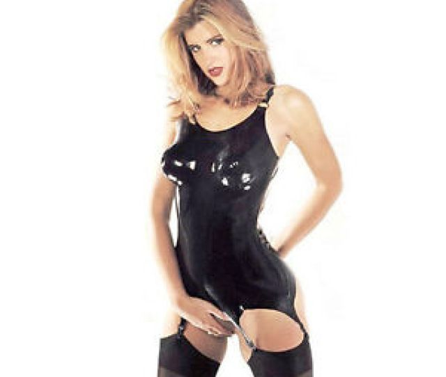 Image Is Loading Sharon Sloane Latex Suspender Body Sexy Lingerie Rubber