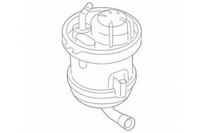 Genuine Audi/VW Fuel Filter 7L8-919-679 AND Washer 1J0-919