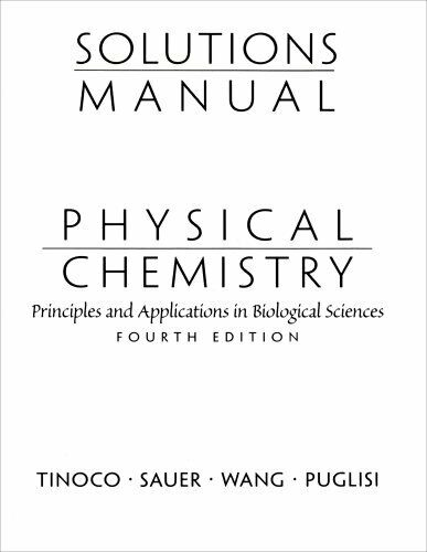 Solutions Manual for Physical Chemistry: Principles and