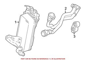 For BMW Genuine Automatic Transmission Oil Cooler
