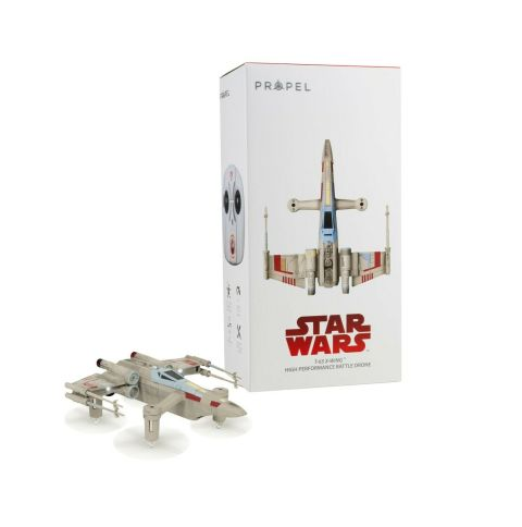 Propel Star Wars T-65 X-Wing Battle Drone W/ Real Lasers and App for Android/iOS 2