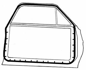 1966-67 FORD FAIRLANE & MERCURY METEOR/1966-70 FALCON DOOR