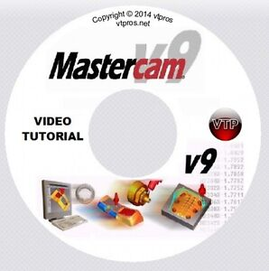 MASTERCAM v9 v8 MILL, SOLIDS, MULTI-AXIS Video Tutorial Training ...