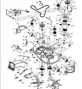 Cutter Deck Drive Belt Husqvarna TC142, Jonsered LT2320