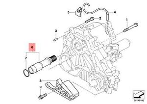 Genuine BMW E83 E83N SUV Adapter shaft Gearbox Mouting