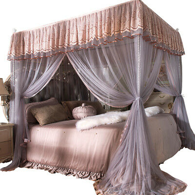 princess style home netting mosquito net decoration bed curtain canopy frames ebay