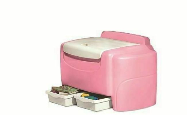 Little Tikes Pink Sort N Store Toy Chest For Sale Online