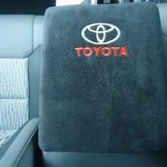 Cover Chair Seat Car Skyline Furniture Reviews Fits Toyota Tacoma 2015-2018 Fleece Embroidered Armrest For Console Lid X1 | Ebay