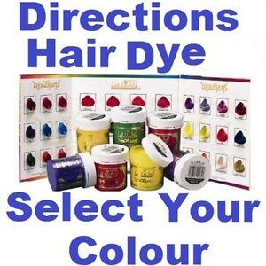 la riche directions semi permanent hair colour dye tint brush choose colour ebay