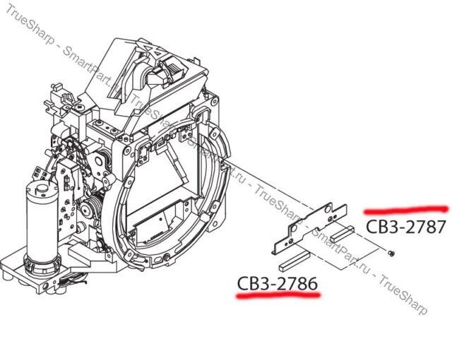 MIRROR CUSHION FOAM FOR CANON EOS 5D 6D 5D MARK II PART