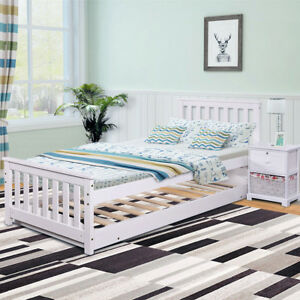 sofa pull out bed frame couches sofas for sale day single double trundle white wooden