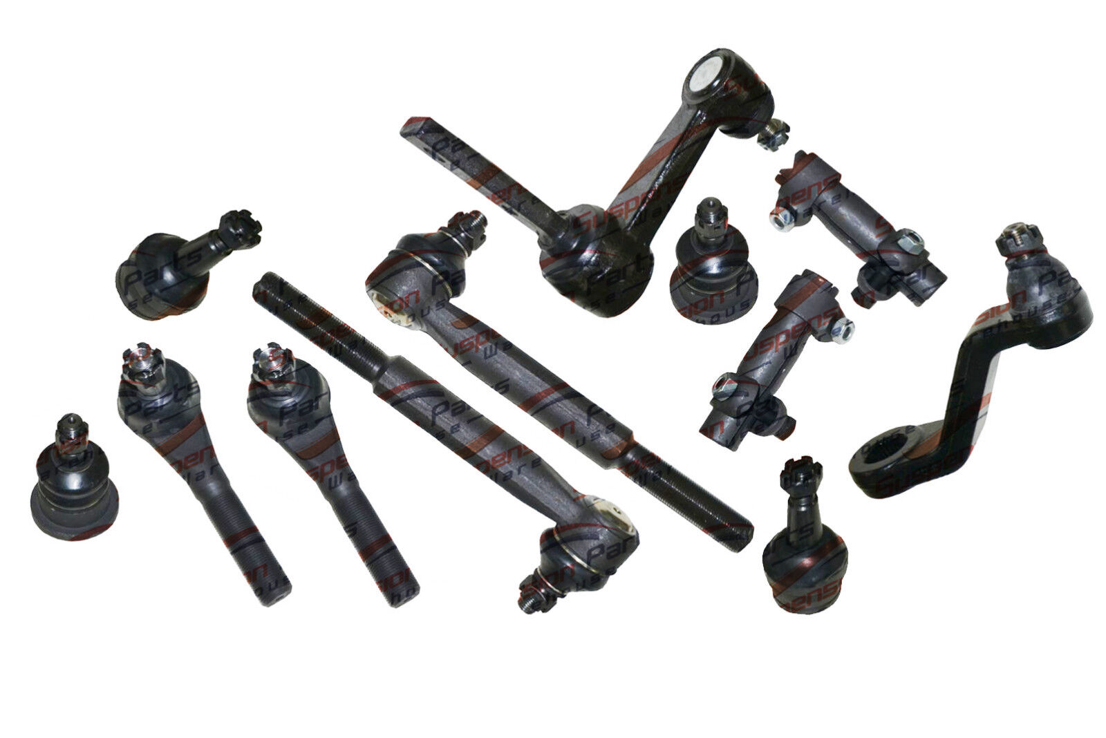 2WD DodGE Ram 1500 Front Steering Kit/Pitman/Idler Arms