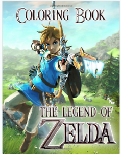 Zelda Coloring Book : zelda, coloring, Legend, Zelda, Coloring, Book:, Funny, Books(Paperback-2019)