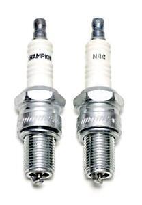 Triumph Champion Spark Plug Set N4C Copper Core 650 750