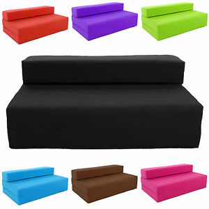 Image Is Loading Block Filled Fold Up Sofa Bed Z