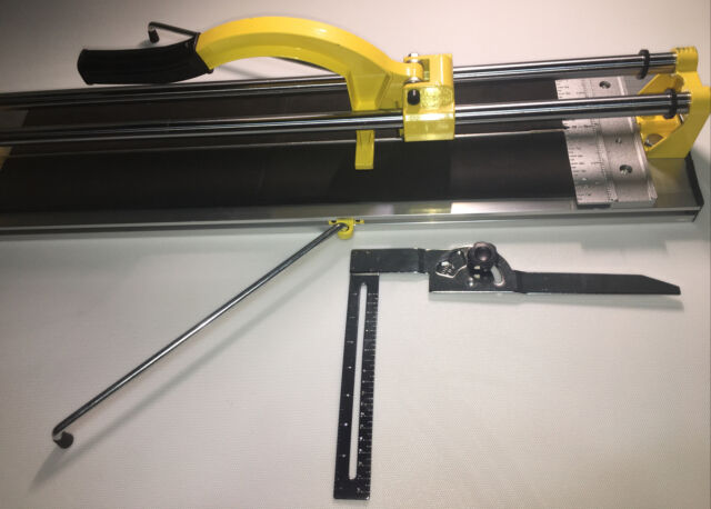 qep 10630q 24 inch manual tile cutter with tungsten carbide scoring wheel for p