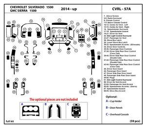 Dash Kit Trim Set for Chevrolet Silverado 1500 / GMC