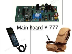 777 Cloud9 Chocolate Massage Main Circuit PC Board For