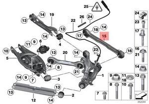 Genuine BMW E81 E82 E84 E87 Track Control Arm Repair Kit