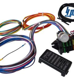 12 circuit universal wiring harness muscle car hot rod street rod xl hot rod wiring harness also universal street rod wiring harness [ 1234 x 942 Pixel ]