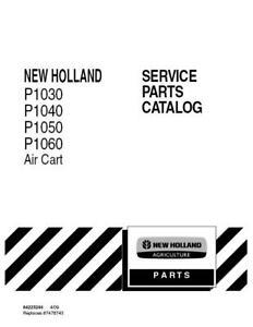 NEW HOLLAND P1030/P1040/P1050/P1060 AIR CART PARTS CATALOG
