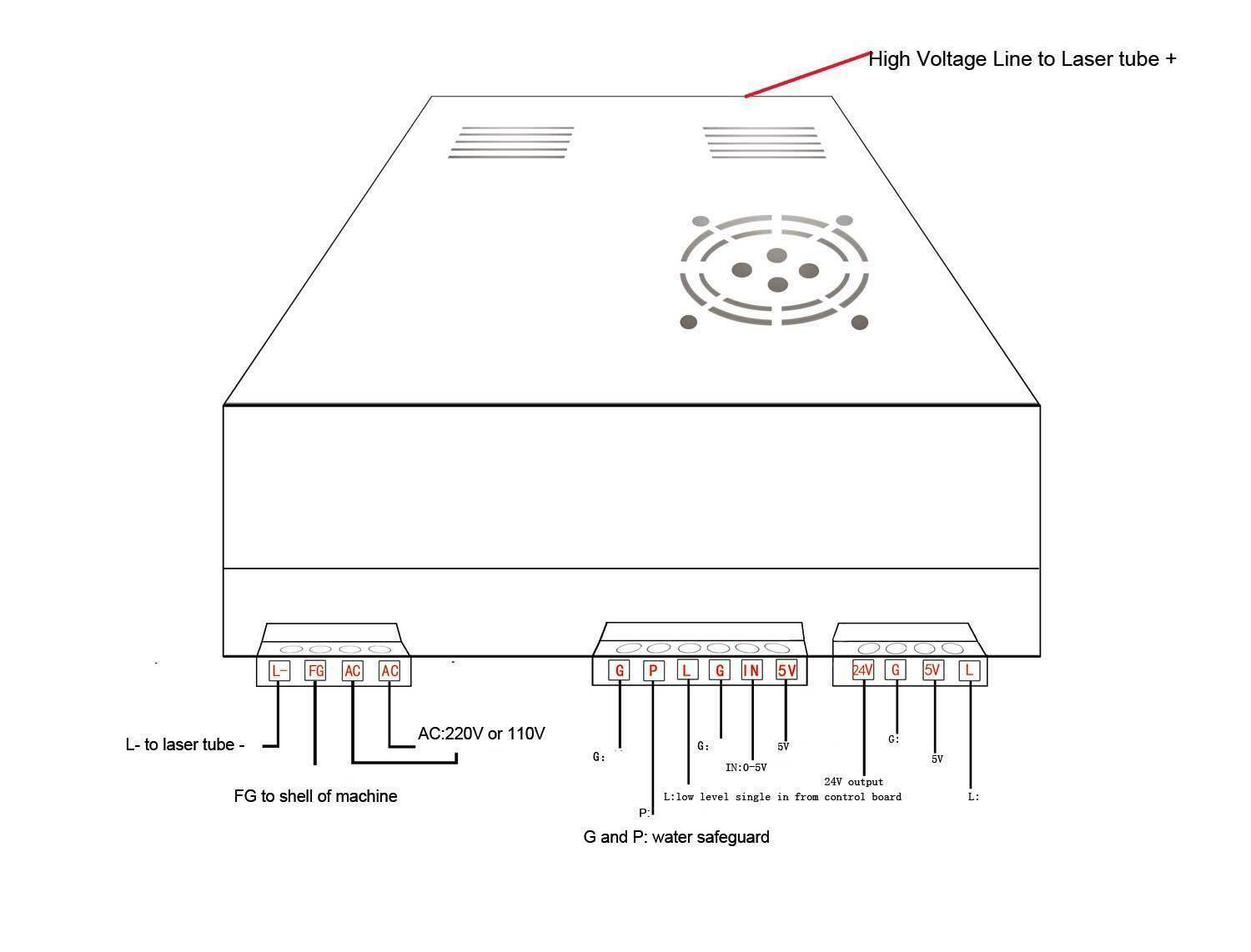 hight resolution of don s laser cutter things k40 lps configuration and wiring k40 power supply wiring diagram