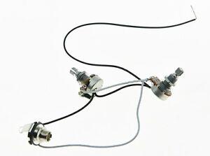 PB Prewired Wiring Harness 1V1T Alpha 500K 16mm Pots 1
