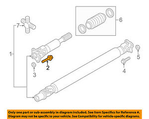 nissan titan front suspension diagram g l wiring diagrams oem 16 18 xd drive shaft bolt image is loading