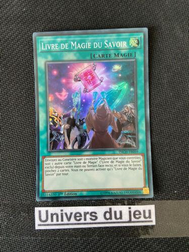 Livre De Magie Du Savoir : livre, magie, savoir, Hobbies, Livre, Magie, Savoir, INCH-FR059, Yu-Gi-Oh