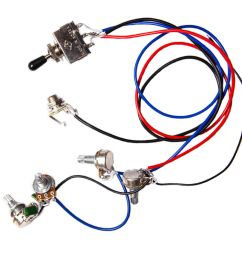 details about electric guitar wiring harness kit 2v2t 3 way switch for guitar parts [ 1200 x 1200 Pixel ]