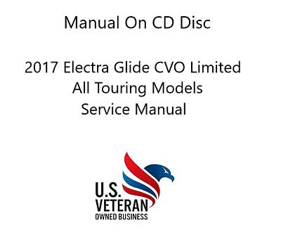 CD Manual For Harley Davidson 2017 Electra Glide Limited