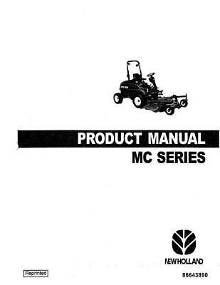 NEW HOLLAND MC22 MC28 MC35 PRODUCT MANUAL OPERATOR`S