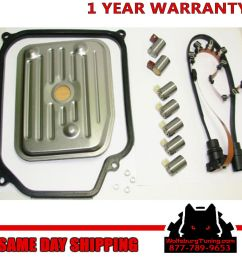 vw 4 speed automatic transmission solenoid harness complete kit [ 1024 x 1024 Pixel ]
